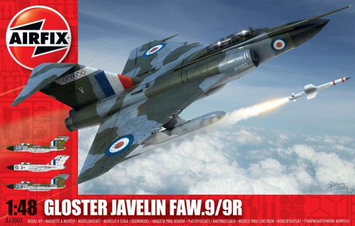 A12007 1/48 GLOSTER JAVELIN FAW 9 9R PLASTIC KIT