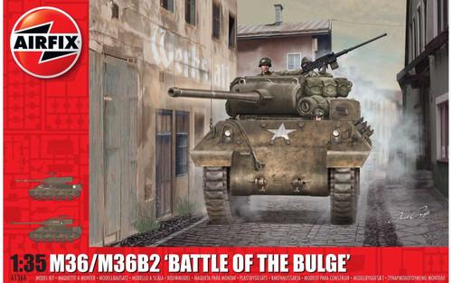 A1366 1/35 M36/M36B2 BATTLE OF THE BULGE PLASTIC KIT