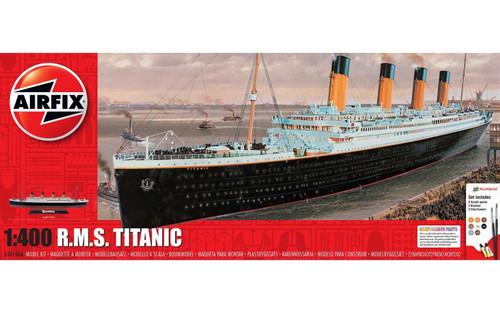 A50146A 1/400 RMS TITANIC GIFT SET PLASTIC KIT