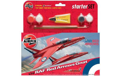 A55105 1/72 RED ARROW GNAT STARTER PLASTIC KIT