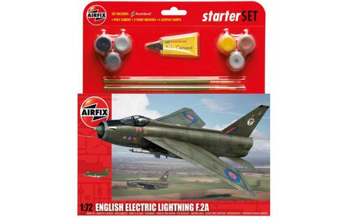 A55305 1/72 ENGLISH ELECTRIC LIGHTNING F.2A STARTER PLASTIC KIT
