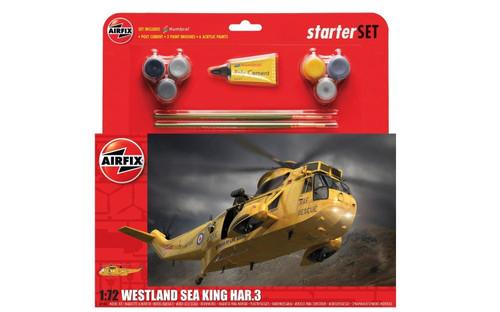 A55307A 1/72 WESTLAND SEA KING HAR.3 STARTER PLASTIC KIT