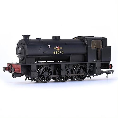 E85001 OO 68075 J94 0-6-0T BR LATE BLACK WEATHERED