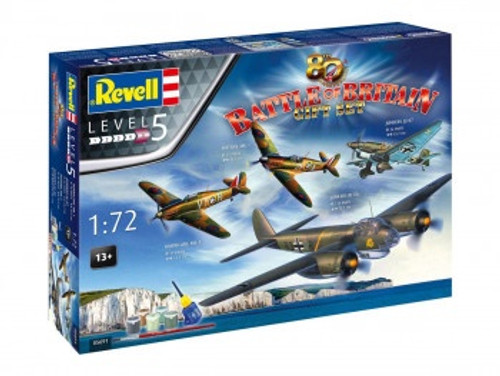 R05691 1/72 BATTLE OF BRITAIN 80 YEARS GIFT SET PLASTIC KIT