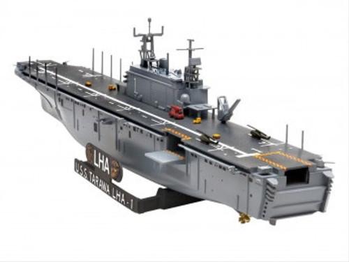 R05170 1/720 ASSAULT SHIP USS TARAWA LHA-1 PLASTIC KIT