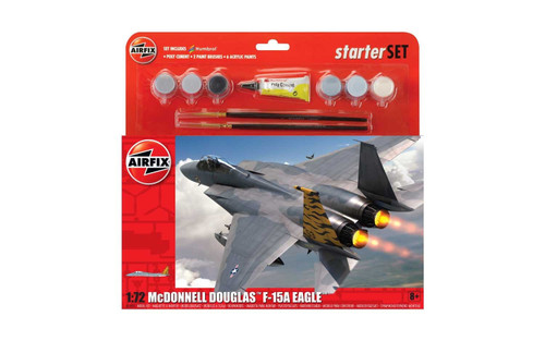 A55311 1/72 MCDONNELL DOUGLAS F-15 EAGLE STARTER PLASTIC KIT
