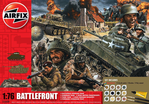 A50009A 1/72 75TH ANNIVERSARY D-DAY BATTLEFRONT GIFT SET PLASTIC KIT