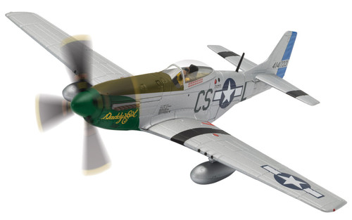 AA27704 1/72 MUSTANG P-51D 370FS DADDMORE DADDYS GIRL