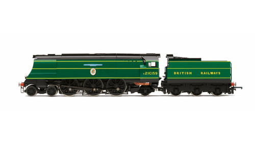 R3525 OO s21C159 BATTLE OF BRITAIN 4-6-2 MALACHITE BRITISH RAILWAYS