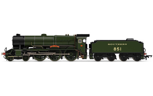 R3634 OO 851 LORD NELSON 4-6-0 SR MAUNSELL GREEN SIR FRANCIS DRAKE