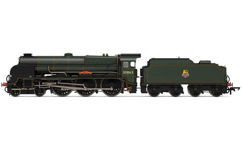R3635 OO 30863 LORD NELSON 4-6-0 BR GREEN EARLY LORD RODNEY