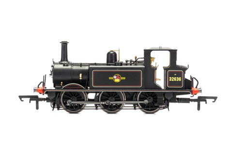 R3768 OO 32636 A1/AIX 0-6-0T TERRIER BR BLACK LATE
