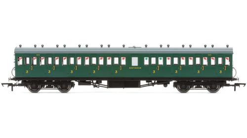 R4795 OO 320 3RD (DIAG 31) NON CORRIDOR EX-LSWR SR MALACHITE
