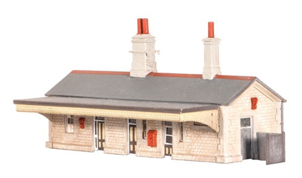 204 N STATION BUILDING PLASTIC KIT