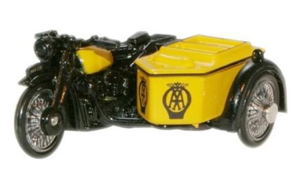 76BSA001 OO AA MOTORCYCLE/SIDECAR
