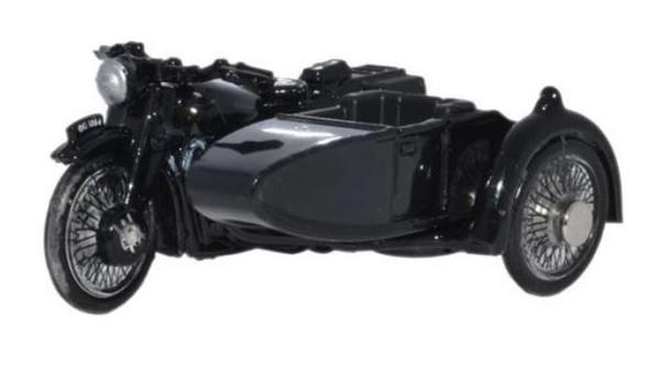 76BSA006 OO POLICE BSA MOTORBIKE/SIDECAR
