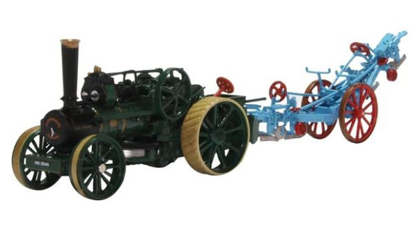 76FBB005 OO FOWLER PLOUGHING ENGINE 15334 AND BALANCE PLOUGH