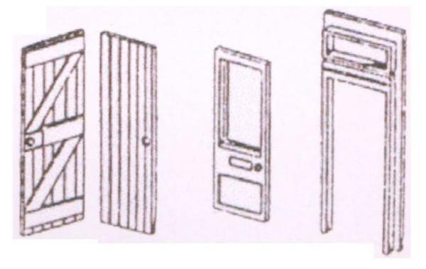 DPB3 OO DOORS/ARCHITRAVES