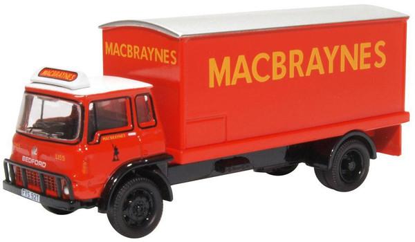 76TK016 OO BEDFORD TK BOX VAN MACBRAYNES