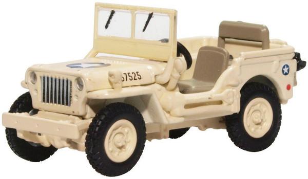 76WMB007 OO WILLYS JEEP MB USAAF TUNISA 1943