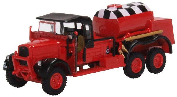 76WOT002 OO FORDSON WOT1 CRASH TENDER RAF CATTERICK (RED)
