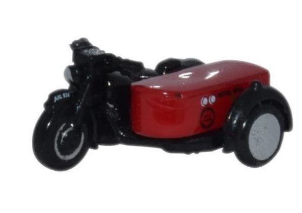 NBSA003 N BSA MOTORBIKE/SIDECAR ROYAL MAIL
