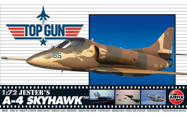 A00501 1/72 TOP GUN JESTER'S A-4 SKYHAWK PLASTIC KIT