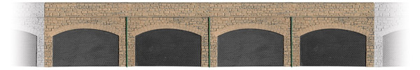 SS69 OO STONE RETAINING ARCHES
