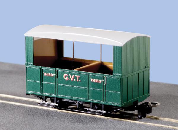 GR-520 OO9 GLYN VALLEY TRAMWAY 4 WHEEL COACH OPEN