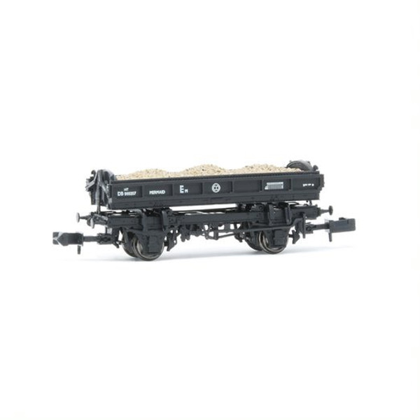 E87512 N DB989207 14T MERMAID BR BLACK SIDE TIPPING BALLAST WAGON