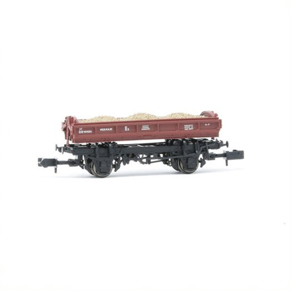 E87515 N DB989334 14T MERMAID BR GULF RED SIDE TIPPING BALLAST WAGON