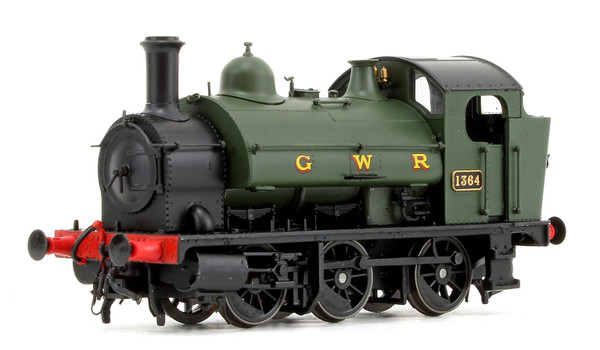 1302 OO 1364 1361 CLASS 0-6-0ST GWR GREEN