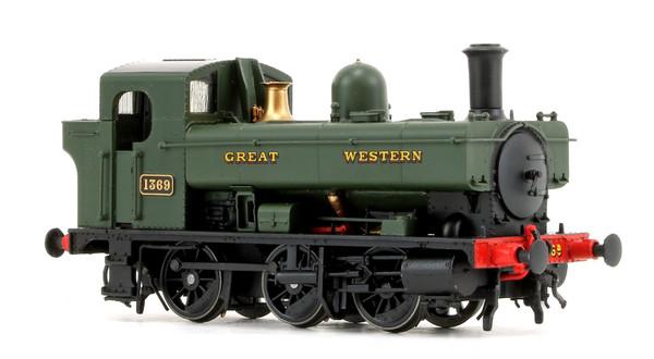 1321 OO 1369 0-6-0 PT GREAT WESTERN GREEN
