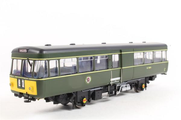 87511 OO SC79974 PARK ROYAL RAILBUS BR GREEN SMALL YELLOW PANEL