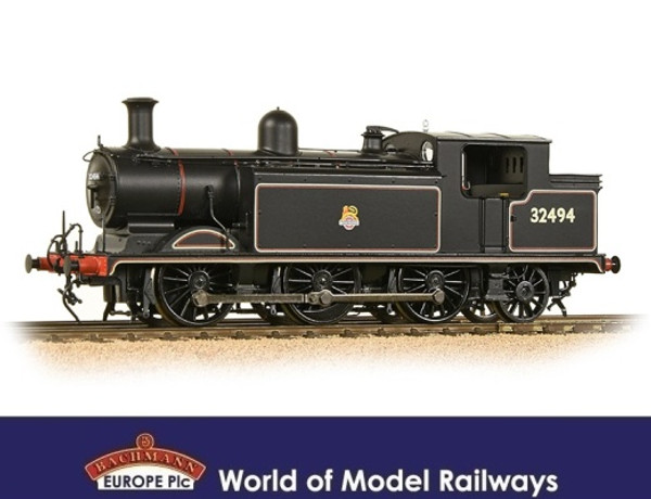 35-079 OO 32494 E4 0-6-2T BR LINED BLACK EARLY