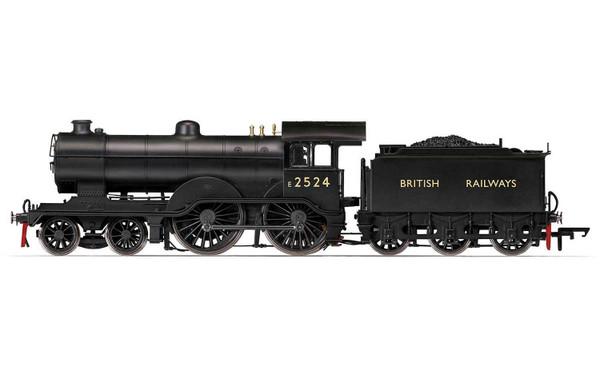 R3235 OO E2524 D16 4-4-0 BR BLACK BRITISH RAILWAYS