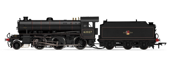 R3243A OO 62027 K1 2-6-0 BR BLACK LATE