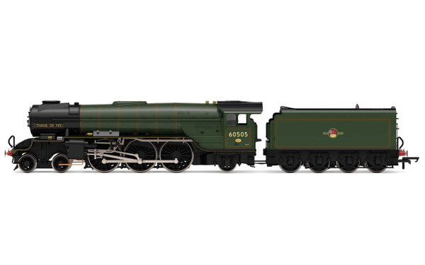 R3831 OO 60505 THOMPSON A2/2 4-6-2 BR LINED GREEN LATE THANE OF FIFE