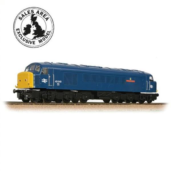 32-687TL OO 45059 CLASS 45/0 BR BLUE THE STAFFORDSHIRE REGIMENT