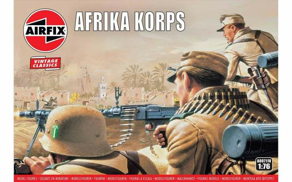 A00711V 1/72 WWII AFRIKA KORPS