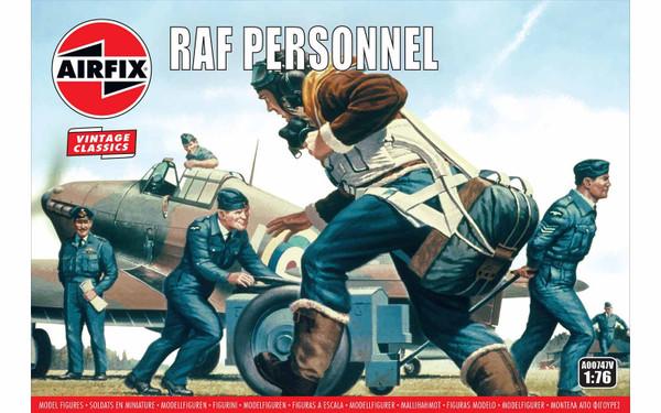 A00747V 1/72 RAF PERSONNEL
