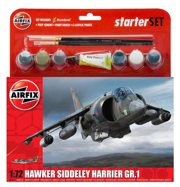 A55205 1/72 HARRIER GR1 STARTER PLASTIC KIT