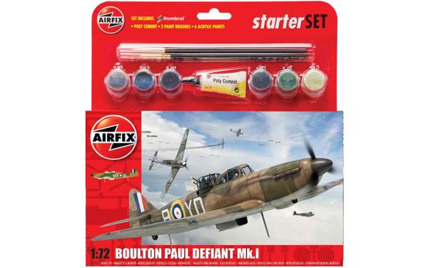 A55213 1/72 BOULTON PAUL DEFIANT MK.1 STARTER PLASTIC KIT
