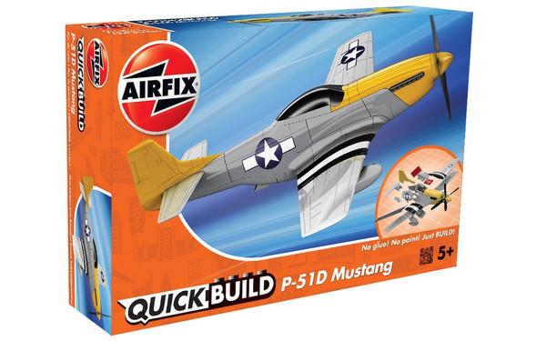 J6016 P-51D MUSTANG QUICK BUILD PLASTIC KIT