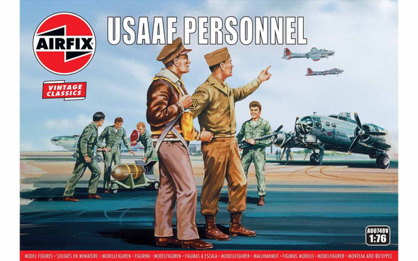 A00748V 1/72 USAAF PERSONNEL