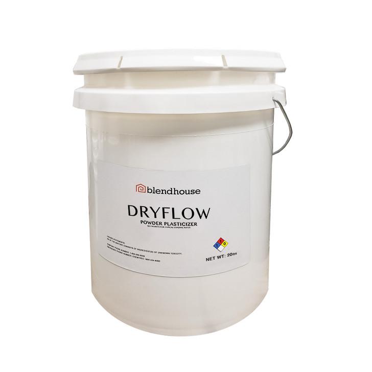 Dryflow concrete plasticizer 2.5 gal pail - 8.25 lbs