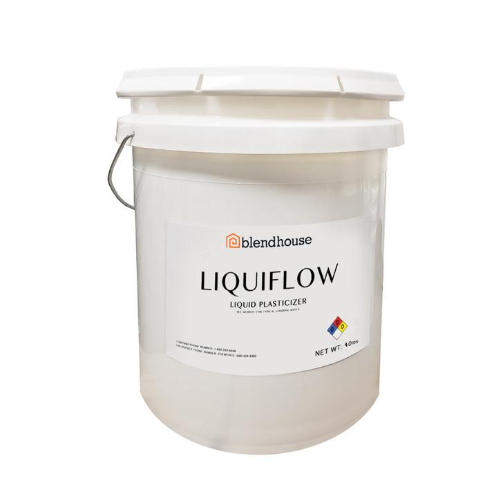 Liquiflow concrete plasticizer