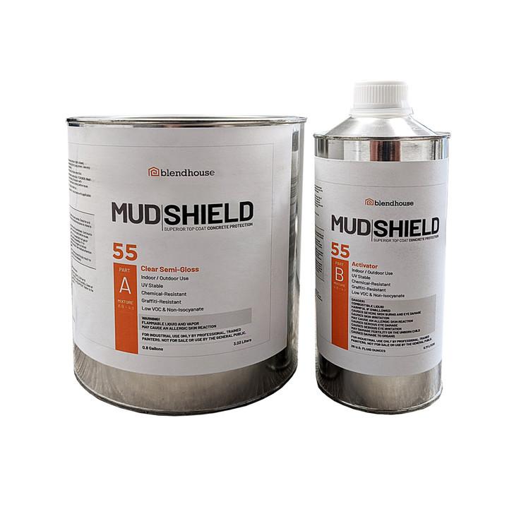 Mud Shield 55 Concrete Sealer.