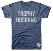 RETRO BRAND BLUE TROPHY HUSBAND TEE