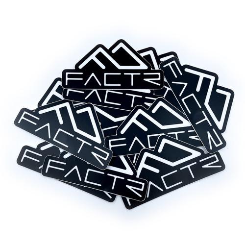 FACTR Logo Sticker